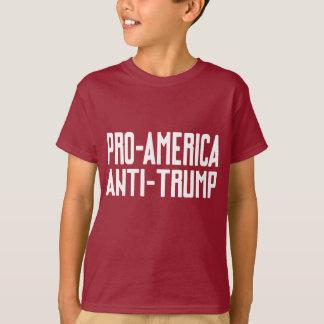 Camiseta T-shirt da resistência do Anti-Trunfo de