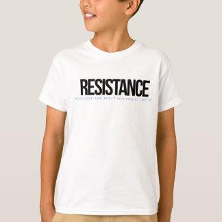 Camiseta T-shirt da RESISTÊNCIA dos miúdos