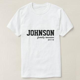Camiseta T-shirt da reunião de família da equipe