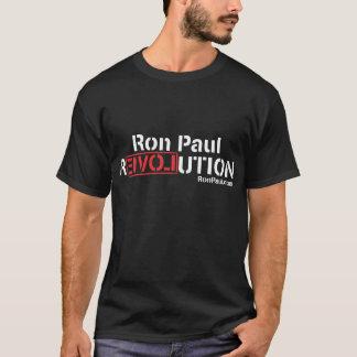 Camiseta T-shirt da revolução de Ron Paul