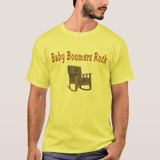 Camiseta t-shirt da rocha dos nascidos no Baby Boom