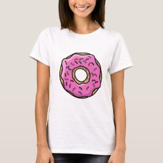 Camiseta T-shirt da rosquinha das mulheres