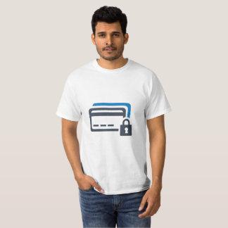 Camiseta T-shirt da segurança do cartão de crédito