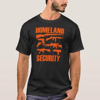 Camiseta T-shirt da segurança interna