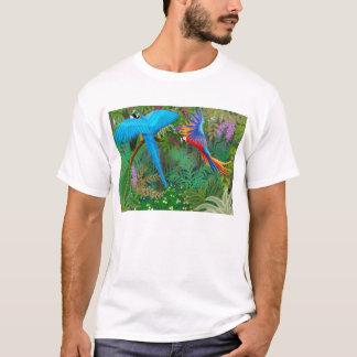 Camiseta T-shirt da selva do Macaw