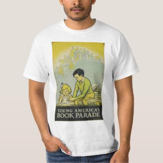 Camiseta T-shirt da semana de livro de 1932 crianças
