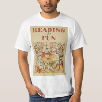 Camiseta T-shirt da semana de livro de 1935 crianças