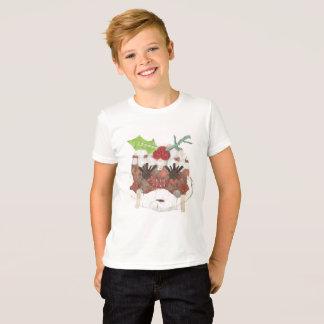 Camiseta T-shirt da Senhora Pudim Nenhum Fundo Miúdo