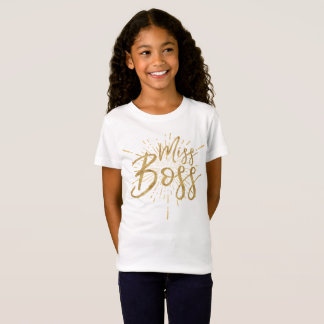 Camiseta T-shirt da senhorita Chefe |