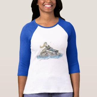 Camiseta T-shirt da sereia