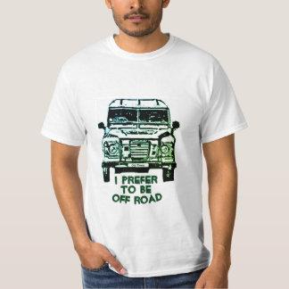 Camiseta T-shirt da série de Land Rover