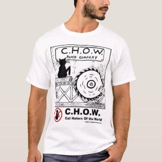 Camiseta T-shirt da serração dos aborrecedores do gato
