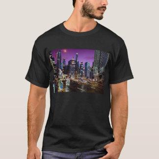 Camiseta T-shirt da skyline de Chicago