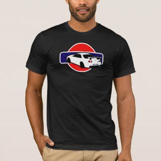 Camiseta T-shirt da skyline de Datsun dos homens (preto)