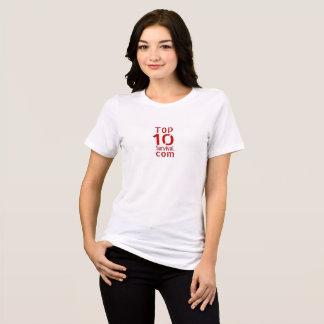 Camiseta T-shirt da sobrevivência da parte superior 10