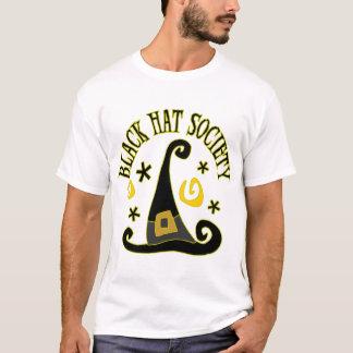 Camiseta T-shirt da sociedade do chapéu negro