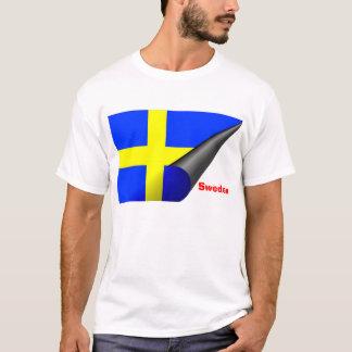 Camiseta T-shirt da suecia (bandeira sueco)