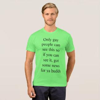 Camiseta T-shirt da surpresa