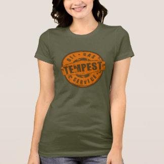 Camiseta T-shirt da tempestade do vintage