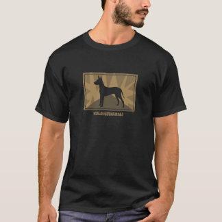 Camiseta T-shirt da terra de Xoloitzcuintli