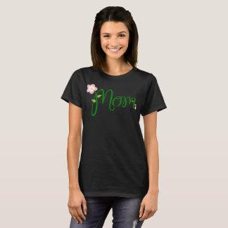 Camiseta T-shirt da tipografia da mamã