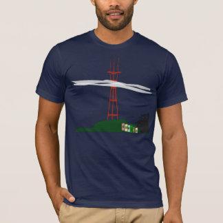 Camiseta T-shirt da torre de Sutro