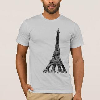 Camiseta T-shirt da torre Eiffel
