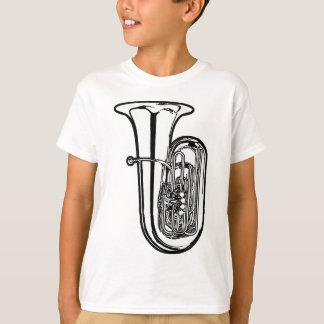 Camiseta T-shirt da tuba dos miúdos