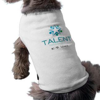 Camiseta T-shirt da unidade do filhote de cachorro do