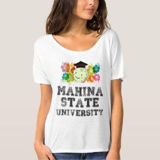 Camiseta T-shirt da universidade estadual de Mahina