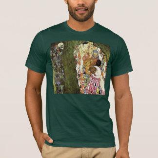 Camiseta T-shirt da vida e da morte do ~ de Gustavo Klimt
