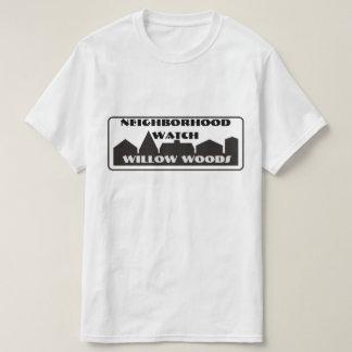 Camiseta T-shirt da vigilância de bairro