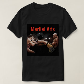 Camiseta T-shirt das artes marciais