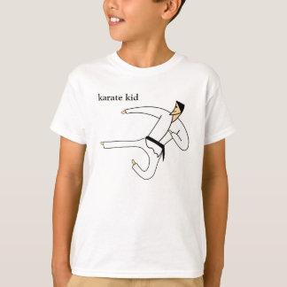 Camiseta T-shirt das artes marciais do cinturão negro