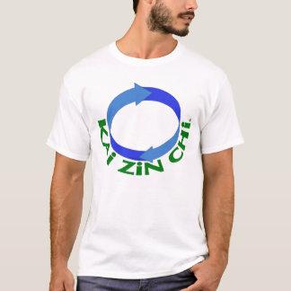 Camiseta T-shirt das artes marciais do LOGOTIPO do qui de
