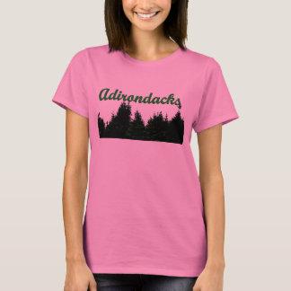 Camiseta T-shirt das árvores de Adirondack