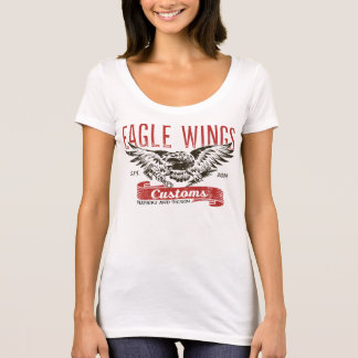 Camiseta T-shirt das asas de Eagle