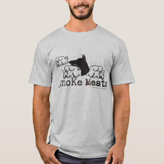 Camiseta T-shirt das carnes do _moKe - personalizado