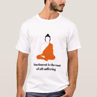 Camiseta T-shirt das citações de Buddha