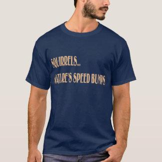 Camiseta T-shirt das COLISÕES de VELOCIDADE da NATUREZA dos