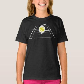 Camiseta T-shirt das cores escuras das meninas de EuroSpin