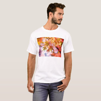 Camiseta T-shirt das folhas de outono