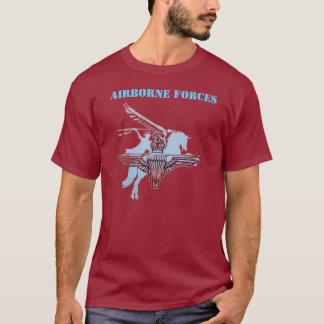 Camiseta T-shirt das forças transportadas por via aérea