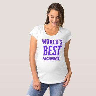 Camiseta T-shirt das mamães do mundo o melhor