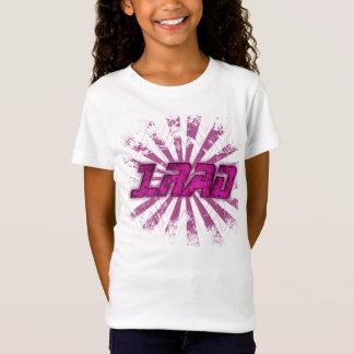 Camiseta T-shirt das meninas da juventude