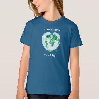 Camiseta T-shirt das meninas de março da ciência - Mãe