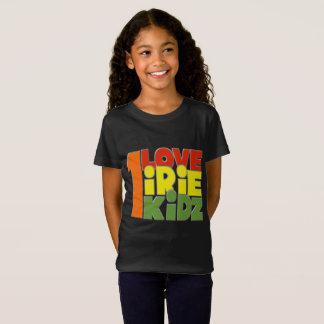 Camiseta T-shirt das meninas do amor de IRIE KIDZ® um