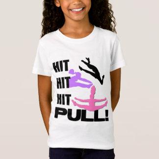 Camiseta T-shirt das meninas do cheerleader
