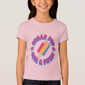 Camiseta T-shirt das meninas do pop do açúcar