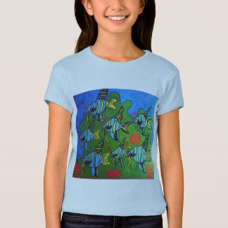 Camiseta t-shirt das meninas do seatopia